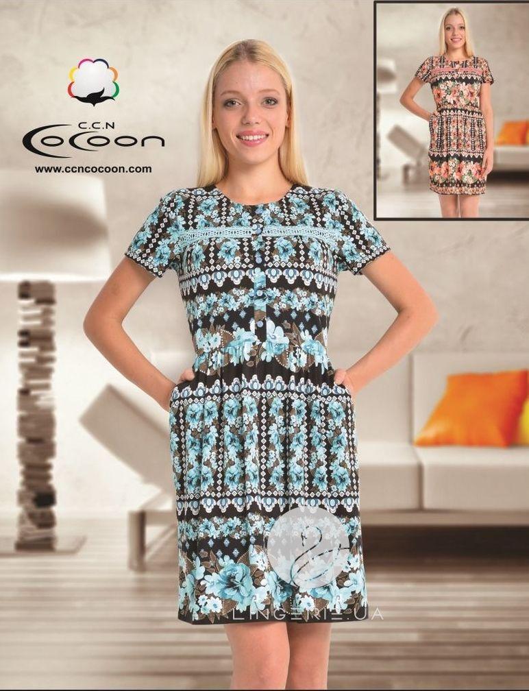 b2b12b652956 Платье для дома и отдыха COCOON А-10349 (лето 2016)